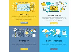 Social Media Analysis and Design Progress Strategy