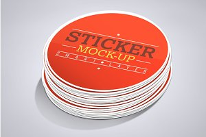 STICKERS MOCK-UP