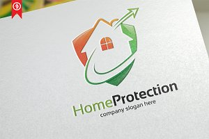 Home Protection - Logo Template