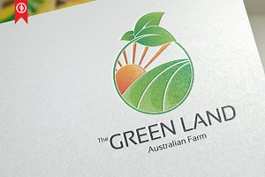 Farm / Green Land - Logo Template