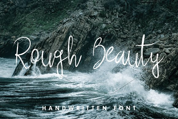 Rough Beauty Script Fonts Creative Market