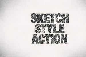 Sketch Style Action