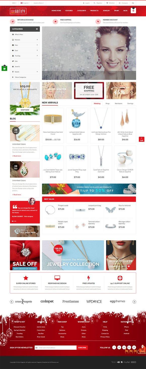 Jewelry Store Magento 1 2 Theme