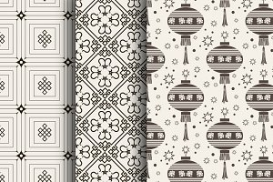 Chinese pattern, vector art