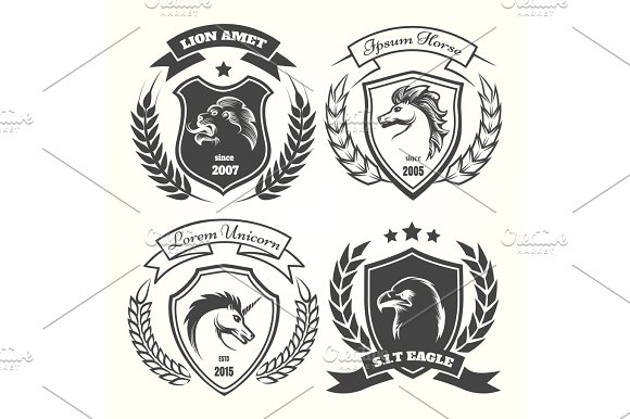 Sca Heraldry Clipart » Designtube - Creative Design Content