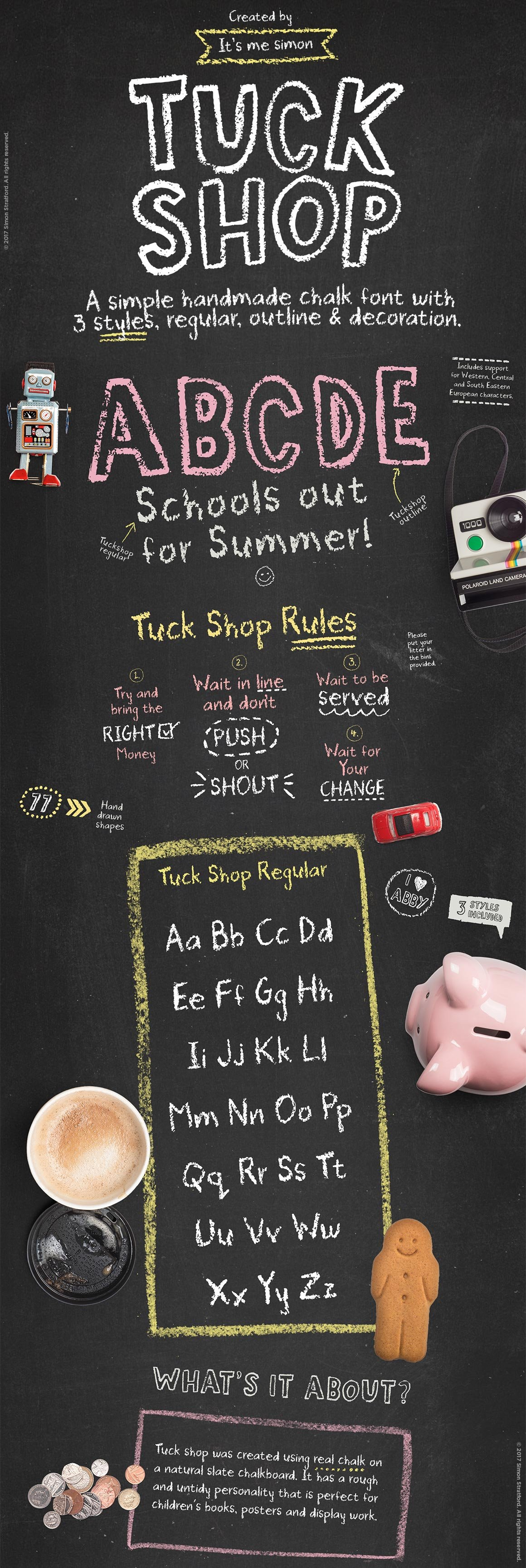 20 rustic chalkboard fonts to add to your collection creative