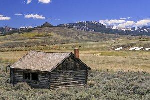 Abandoned Settler's Cabin