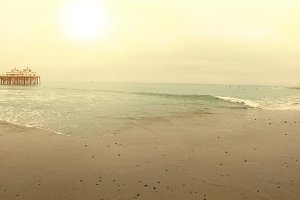 Malibu Beach Panorama