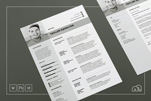 Resume/CV - Taylor