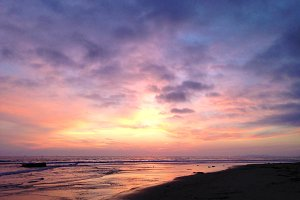 Carpinteria Beach Sunset