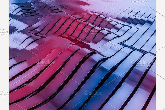 Swirly Colorful Shape