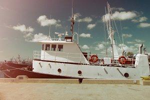 Crab Fisherman Boat
