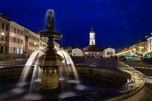 Białystok by night