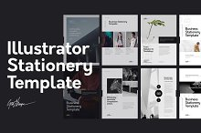 Illustrator Stationery Template