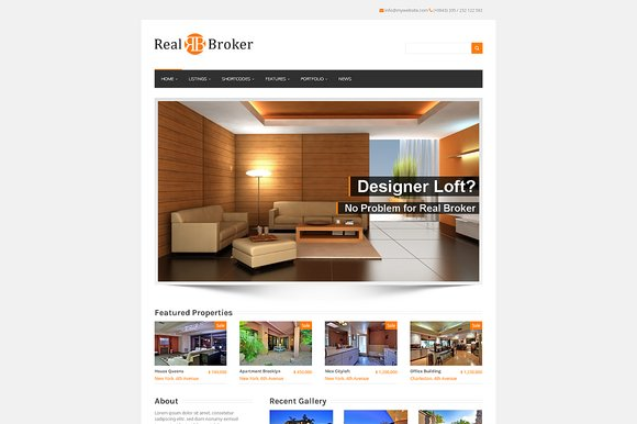 Realbroker - WordPress Real Estate