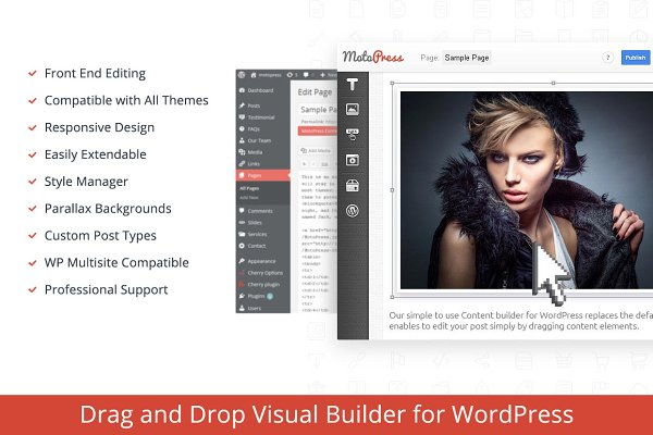 WordPress Plugins: MotoPress - Visual Builder for WordPress