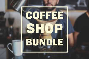 Coffee Shop Photography Bundle