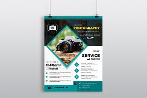 Phtography Business Flyer Template