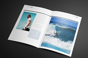 WAVES Magazine Template