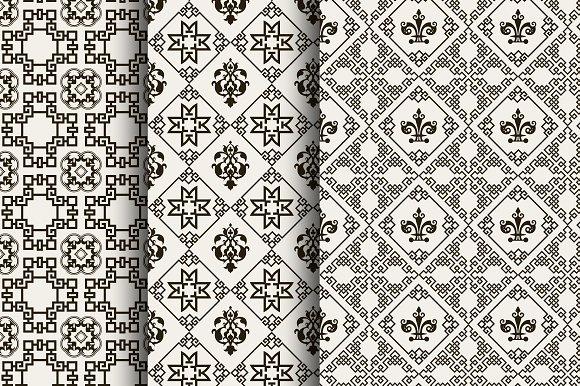 Seamless Pattern Chinese Art