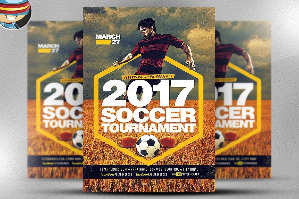 softball sunday flyer template flyer templates on creative market 2017 soccer tour nt flyer