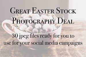 Easter Stock Photography Bundle