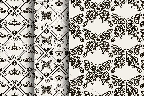 Seamless Pattern Chinese Design
