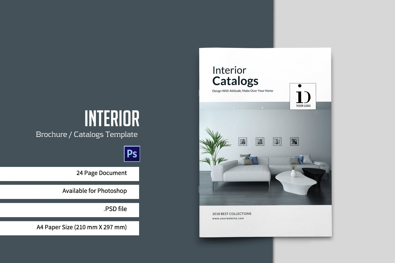 simple brochure catalogs brochure templates on creative market