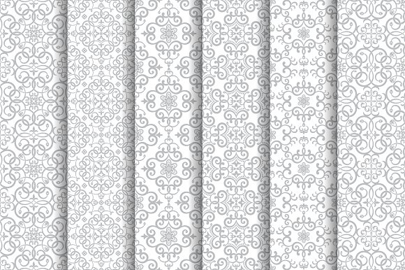 Vintage Arabic Seamless Patterns