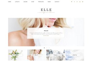 Wordpress Theme Elle