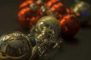 Vinage christmas balls