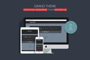 Grand Theme / Responsive Design