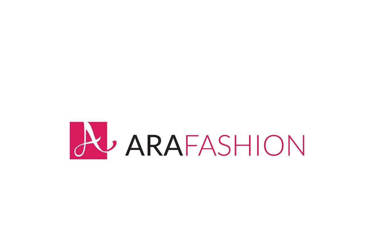 Ara Fashion Letter A Logo in Logo Templates - product preview 8