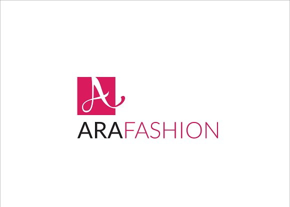 Ara Fashion Letter A Logo in Logo Templates - product preview 1