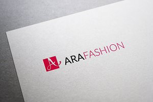 Ara Fashion Letter A Logo