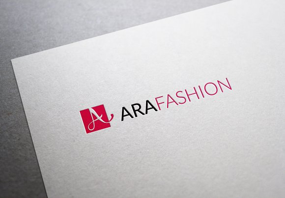 Ara Fashion Letter A Logo in Logo Templates - product preview 2