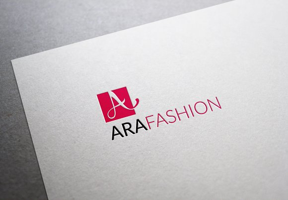 Ara Fashion Letter A Logo in Logo Templates - product preview 3