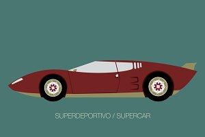 classic super car