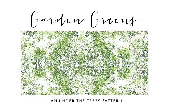 Garden Greens Pattern
