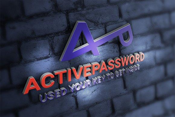 Active Password Key Logo