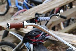 Retro chopper bicycles!