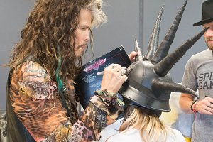 Steven of Aerosmith.