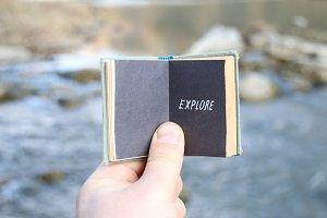 Explore Exploring Experience concept