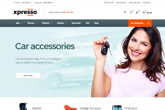 Xpresso Premium HTML Template