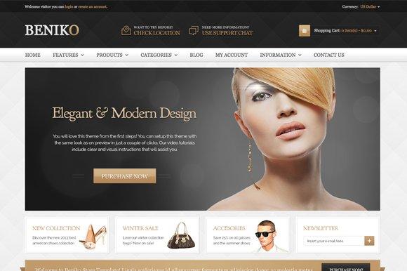 Beniko Premium OpenCart Theme