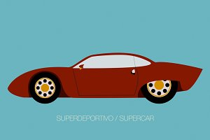 super car icon