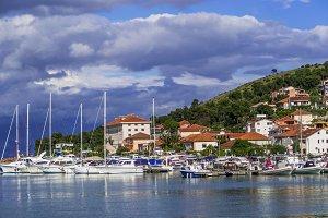 Springtime Trogir, Croatia