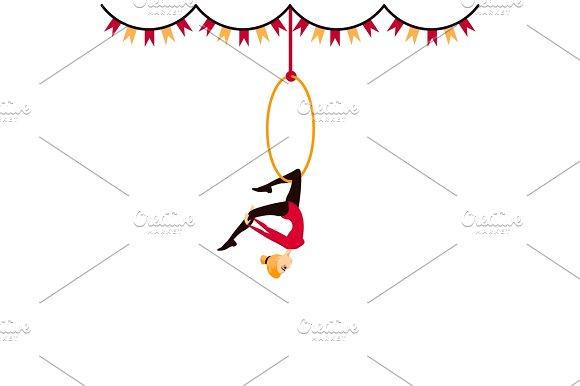 Circus Acrobat Girl