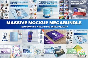 70% OFF - Massive Mockup MegaBundle
