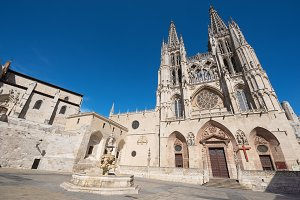 Burgos Cathedral, Spain.